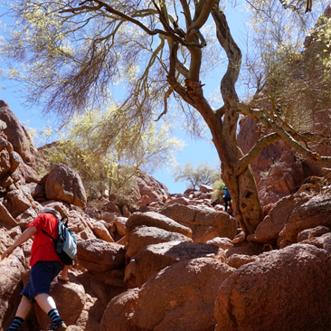 Hiking Camelback Mountain in Phoenix