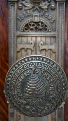 Salt Lake Temple door nob