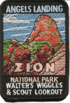 Zion National Park Angels Landing patch