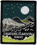 Craters of the Moon National Monument patch