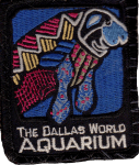 Dallas World Aquarium Manatee patch