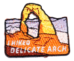 I Hiked Delicate Arch patch