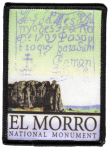 El Morro National Monument patch