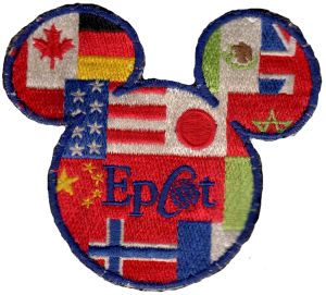 Epcot Mickey Mouse patch