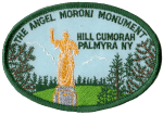 Hill Cumorah Angel Moroni Monument patch