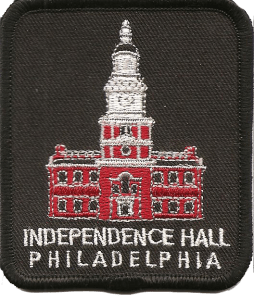 Independence Hall Philadelphia patch