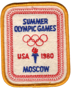 Team USA 1980 Moscow Summer Olympic Games patch