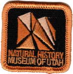 Natural History Museum of Utah Logo patch