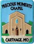 Precious Moments Chapel patch