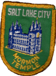 Salt Lake City Temple patch