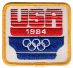 Team USA 1984 Olympic patch