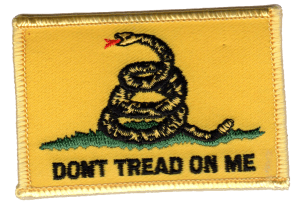 Don't Tread on Me Flag patch