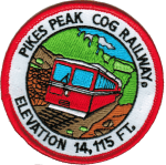 Pikes Peak Cog Railway patch