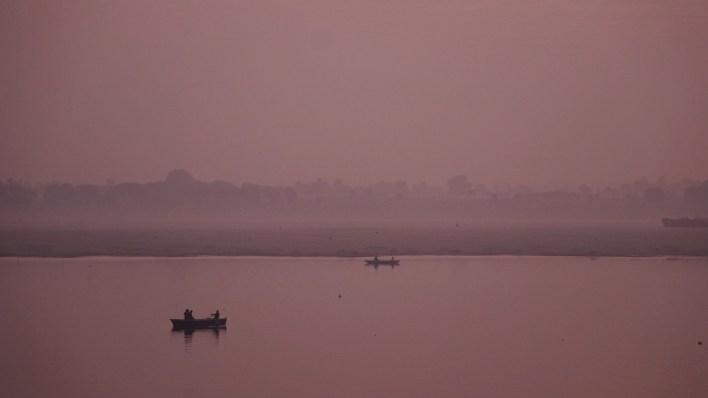 The Mother Ganges at Varanasi
