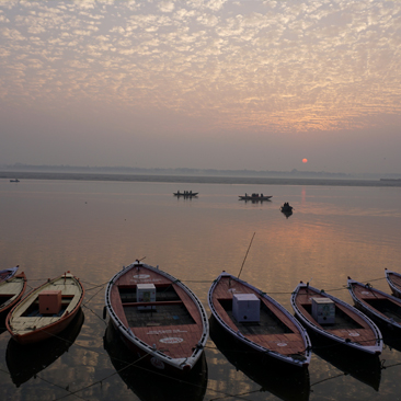 The Mother Ganges at Varanasi