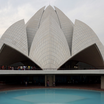 Baha'i Lotus Temple and More in Delhi