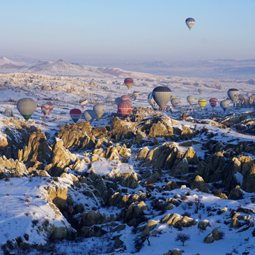 Cappadocia – Hot Air Balloon