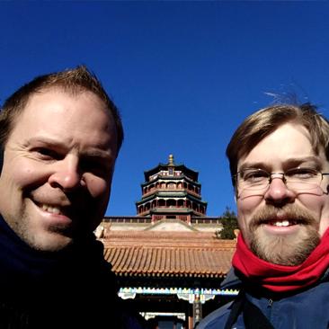 Brother Visits Beijing