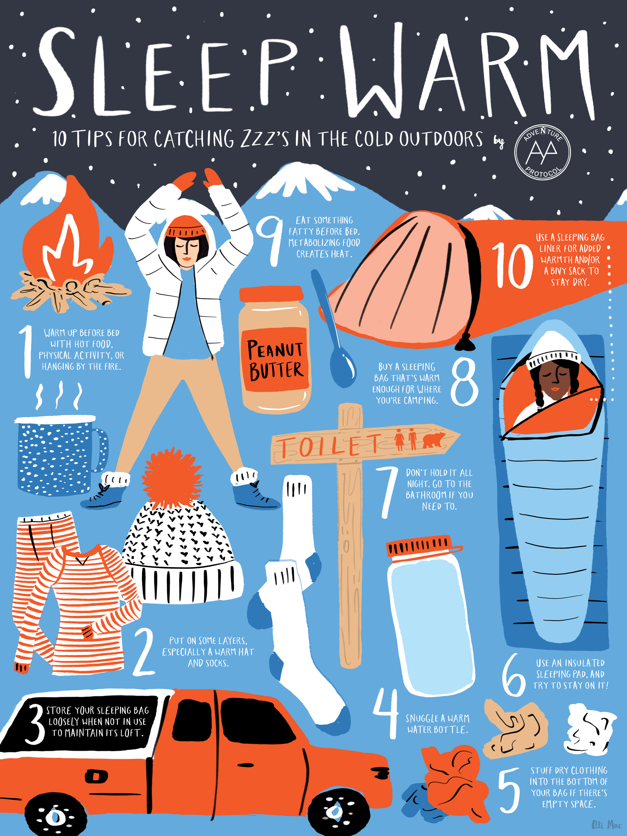 f96d20344 Sleeping Outside: 10 Tips for Staying Warm - Adventure Protocol