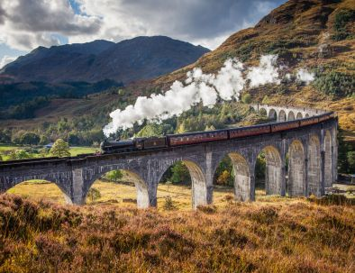 Glenfinnan Viaduct (©Leading Lines)