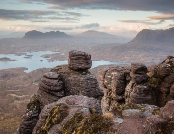 Suilven from Stac Pollaidh (©Leading Lines)
