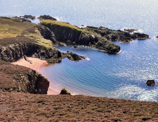 Bungil beach near Muckle Roe (Tom)