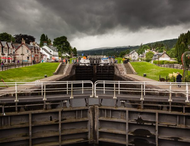 Leading Lines - Fort Augustus01-2364