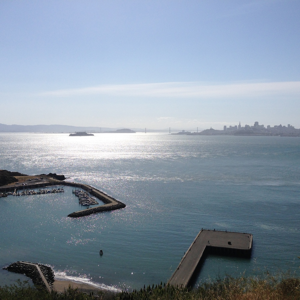 San Francisco Bay from Sausalito.