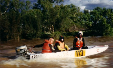 Throughout the Expedition Greg and Brent were always selected to carry the excess weight.
