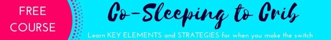 co-sleeping to crib switch