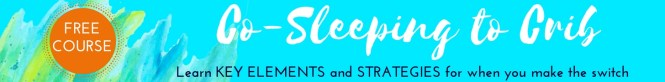 Learn Strategies and take away KEY ELEMENTS for co-sleeping to crib