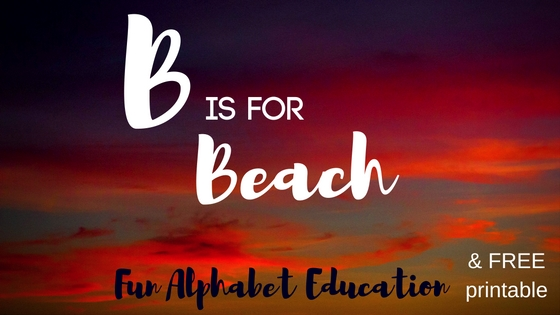 Fun Alphabet Education, the letter B