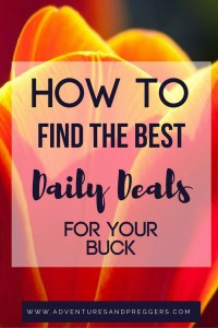 How to Find the BEST Daily Deals for your Buck- stop searching countless sites and use these great resources to find the best daily deals. Whether online or out shopping, these deal finders are a great way to never miss the best deals out there. Click to read how!
