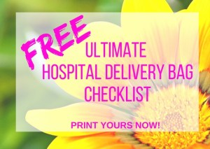 hospital delivery checklist offer
