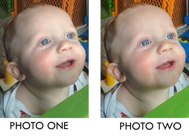phone photographing kids