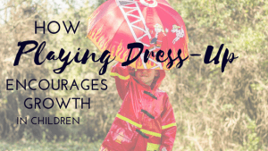 playing dress-up for growth