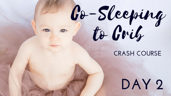 co-sleeping to crib course bootcamp