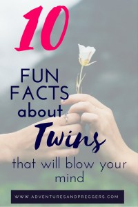 10 Fun Facts About Twins That Will Blow Your Mind- Plus Free Hospital Delivery Bag Checklist!