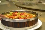 China frog dish