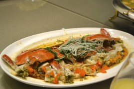 China crab dish