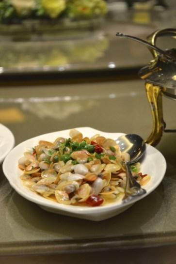 China clam dish