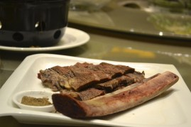 China steak dish