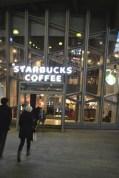 Giant 2 story Starbucks