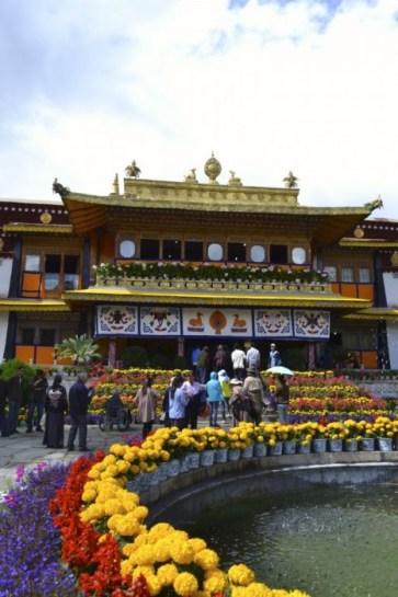 Dalai Lama's home