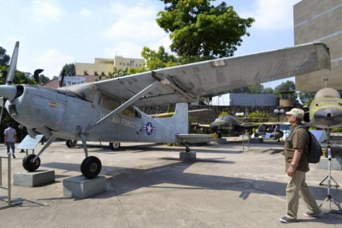 An American in Vietnam: War Remnants Museum