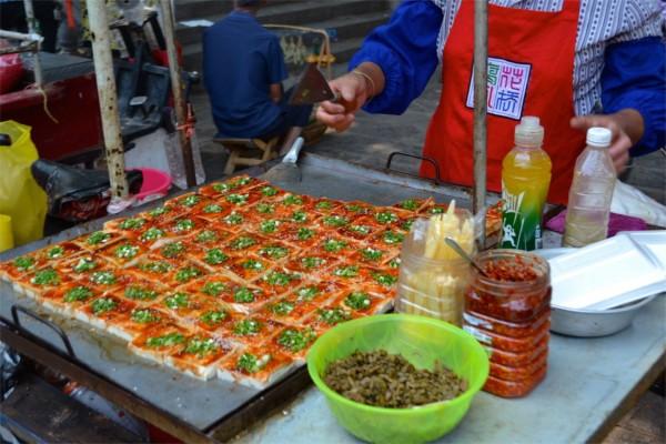 Spicy tofu China