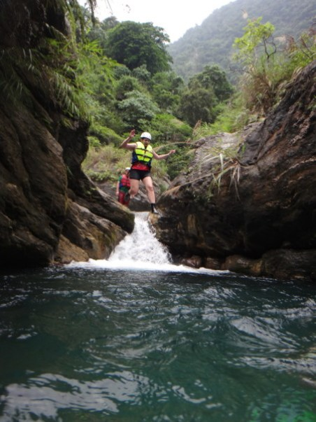 hualien river tracing