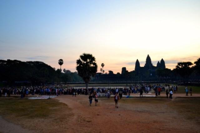 Angkor Wat crowd