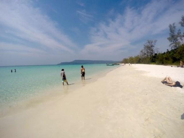 Koh Rong Long Beach