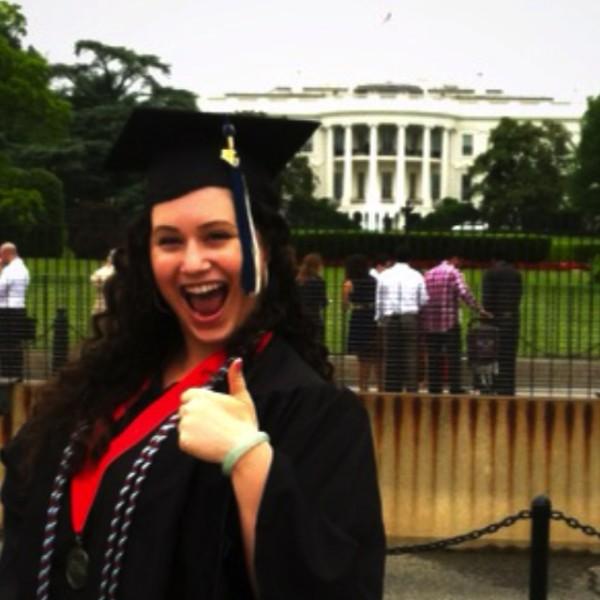 GW Graduation White house